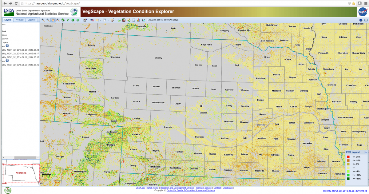 usda nass vegetation map