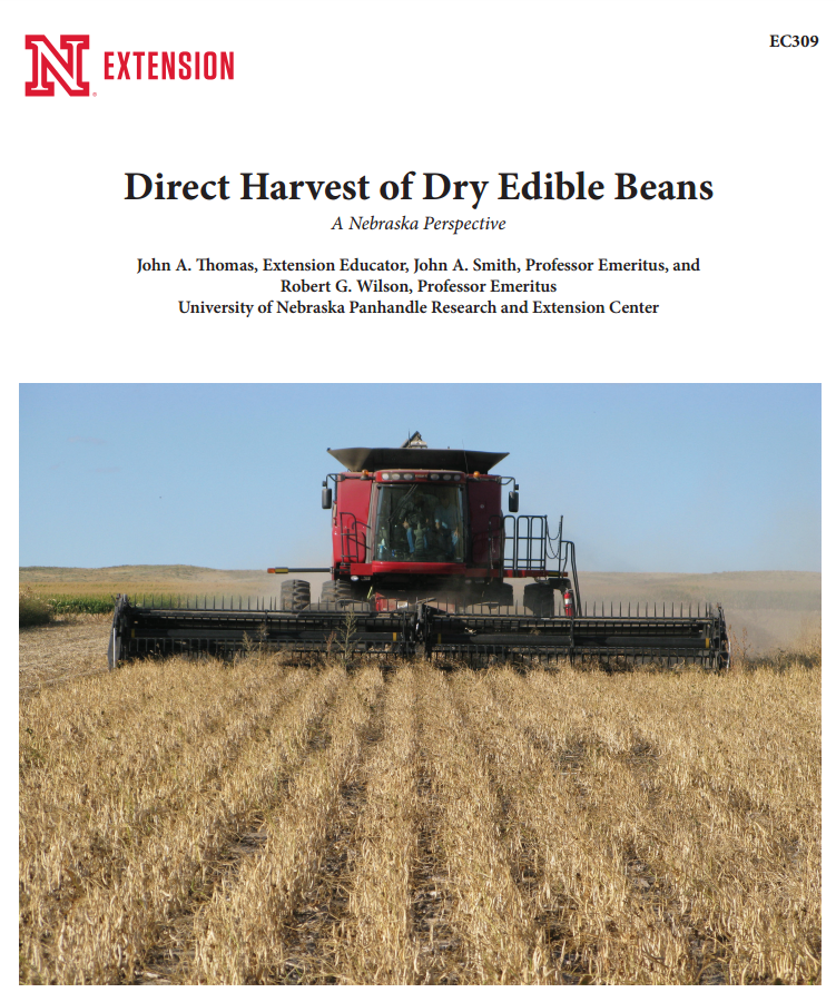 Cover of EC309 Direct Harvest of Dry Beans