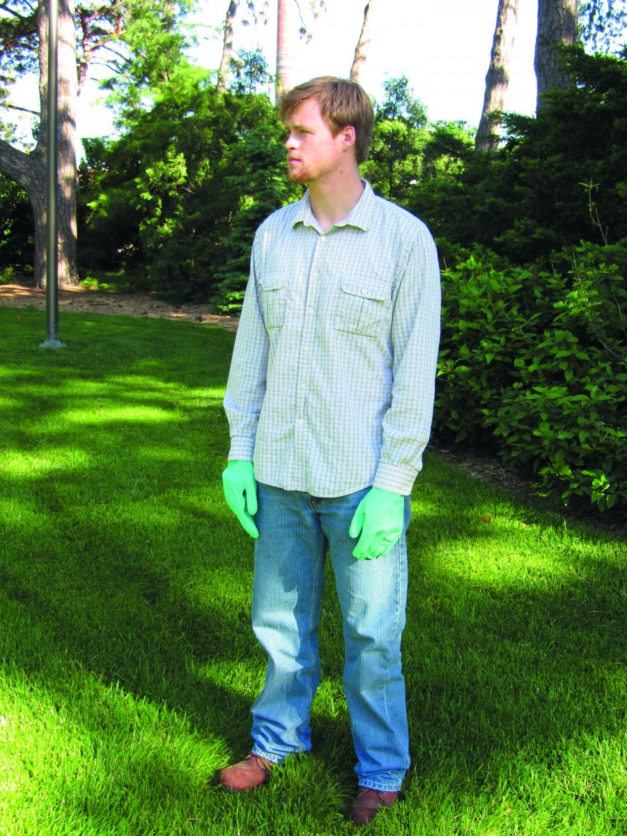 Correct clothing for many types of pesticide application