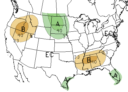 30-day precipitation map