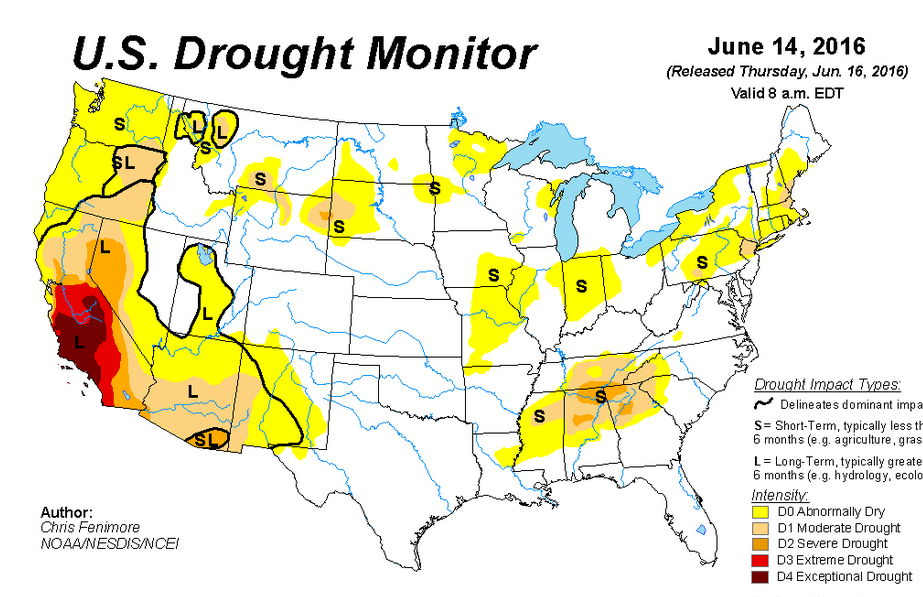 Forecast Hot Dry Conditions to Break Next Week CropWatch