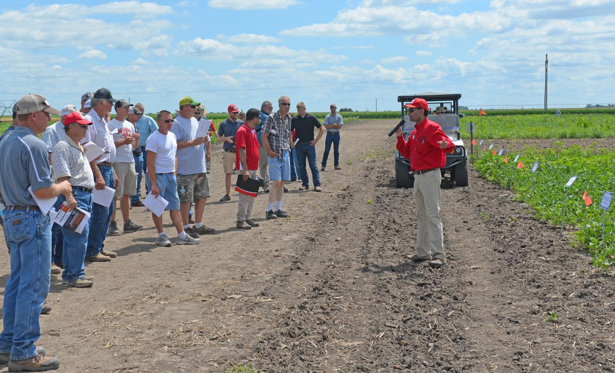 2016 Weed field day