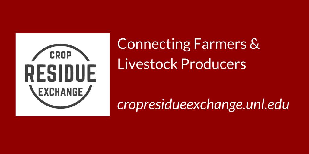link to cropresidueexchange.unl.edu