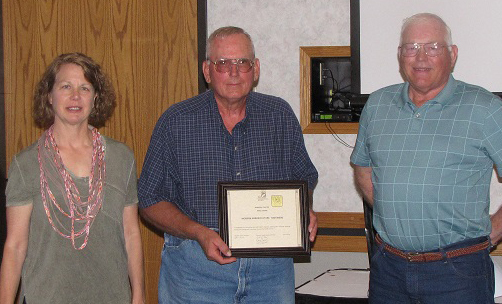 Tom Wiens wins SWCS Merit Award