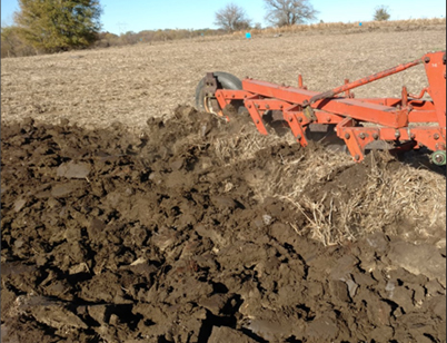 Chisel plowing