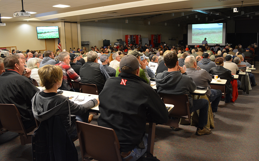 Full house at the 2017 Nebraska Cover Crop Conference
