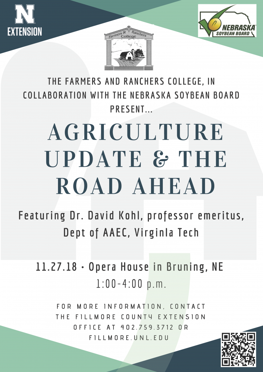 Flyer promoting David Kohl presentation 11/27/18