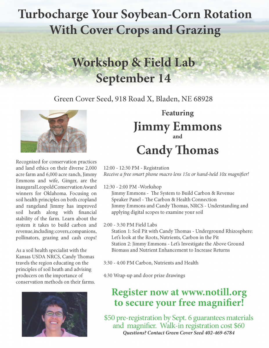 Sept. 14 soils field lab