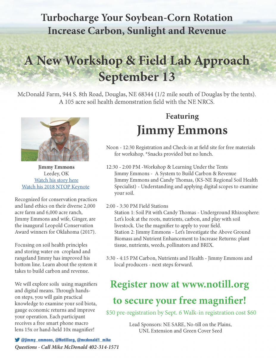 Sept. 13 Soils Field Lab