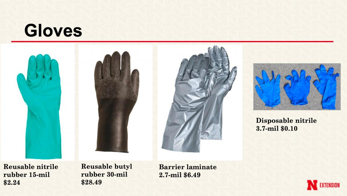 Reduce Pesticide Exposure With Proper Gloves Other Ppe