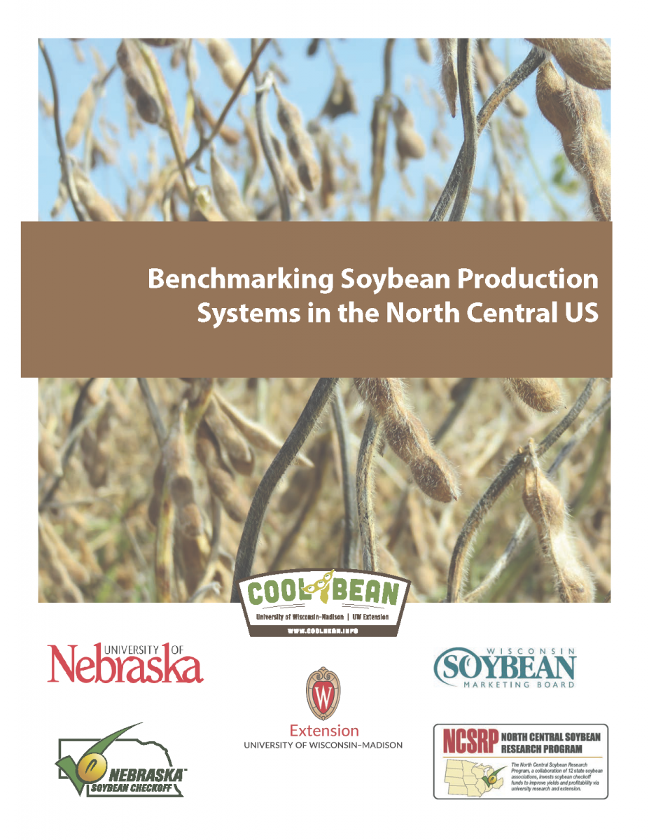 Cover of the Benchmark Soybean Yield Gap Report
