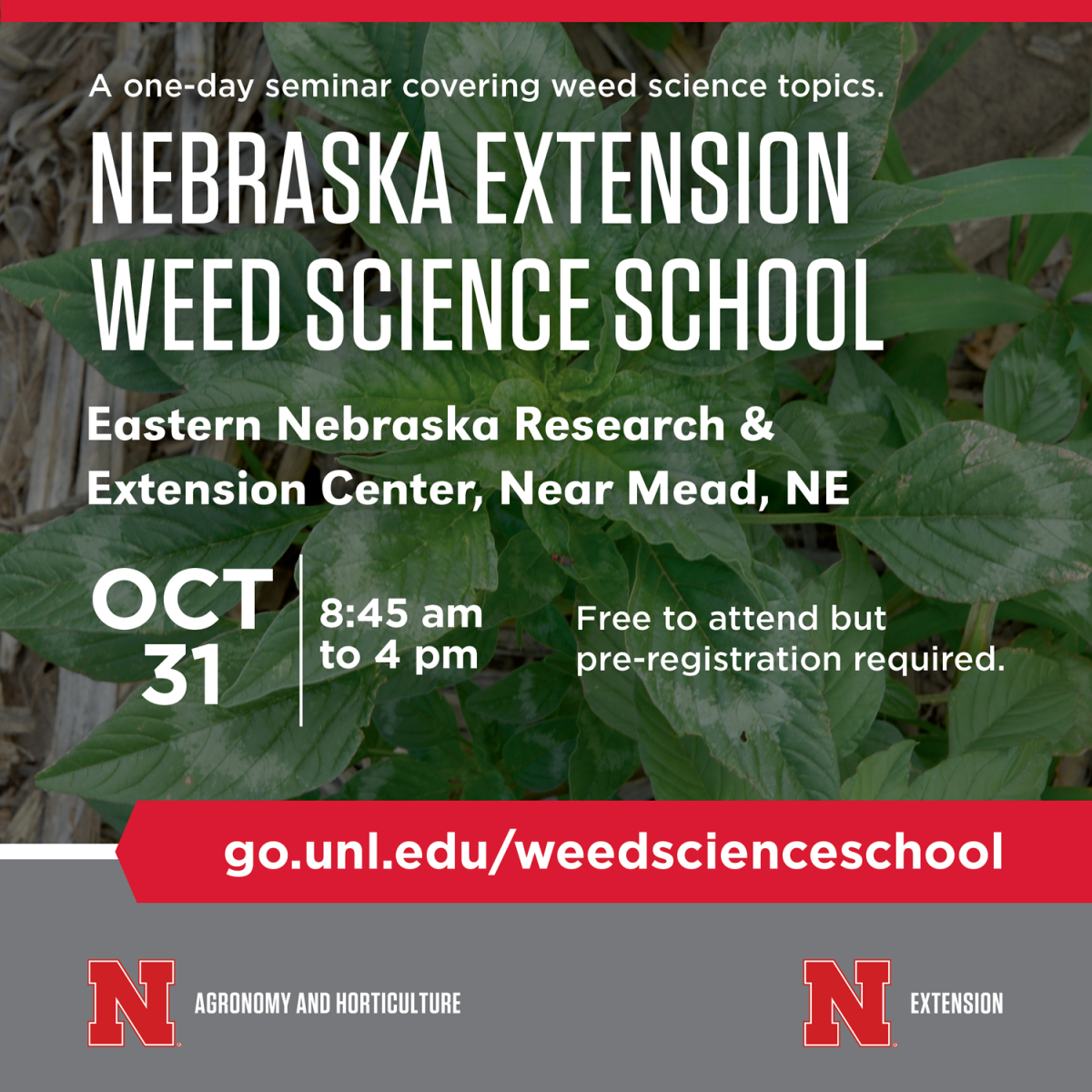 Weed Science School 2018