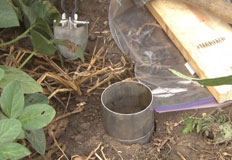 Youth soil quality lessons and videos cropwatch for Soil bulk density