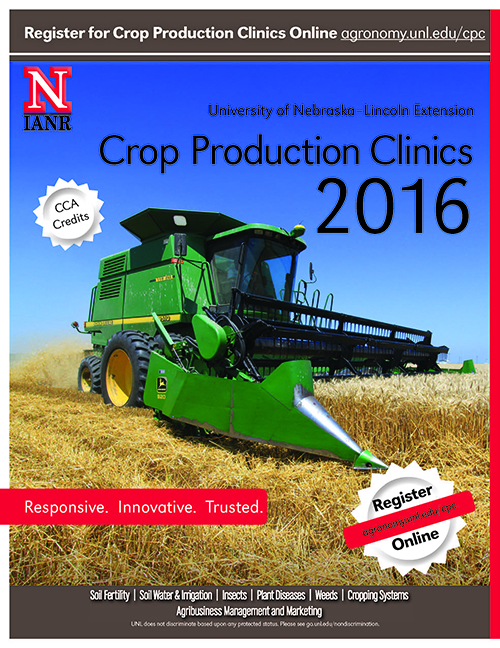 2016 Crop Production Clinic Mini Flyer