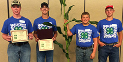 Colfax County FFA 1st place winners