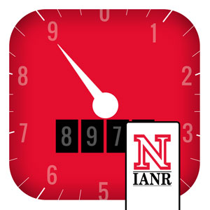 Product icon for UNL irrigation app calculator