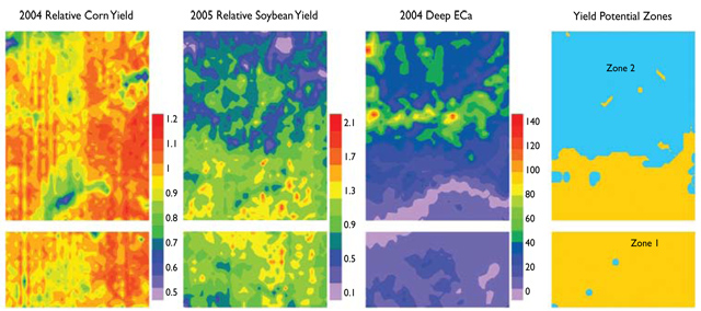 Delineation of Yield Potential Zones