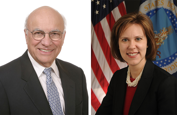 Clayton Yeutter and Darci Vetter, speakers for the Jan. 2016 Heuermann Lecture