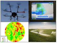 Images from precision ag technologies