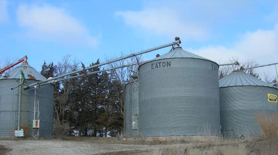 grain bins;