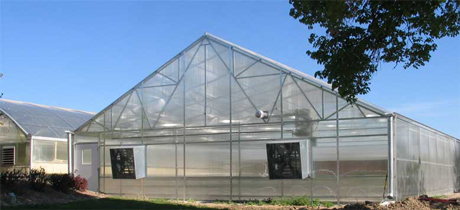Greenhouse at UNL Panhandle Research and Extension Center