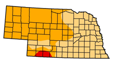 Drought Monitor for Nebraska