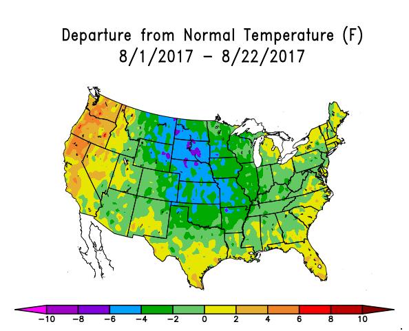 Nebraska Drought Decreases; Forecast for Cooler, Wetter Conditions ...