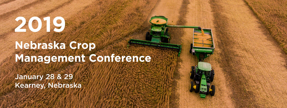 Register now for the Nebraska Crop Management Conference Jan. 28-29.