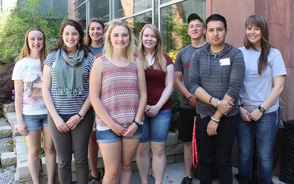 Undergraduate Research Fellows, Department of Agronomy and Horticulture Summer 2016