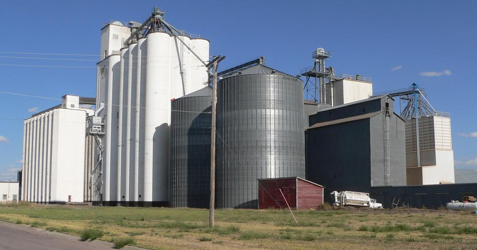 Gordon Nebraska grain elevator