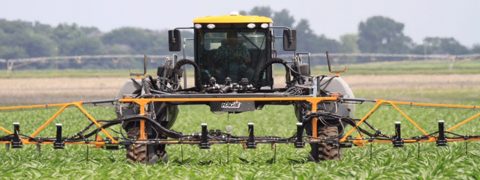 Project SENSE high-tech sensors operating in Corn