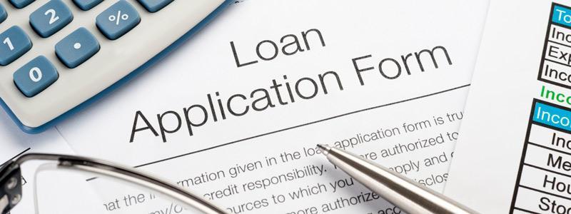 sample loan application form