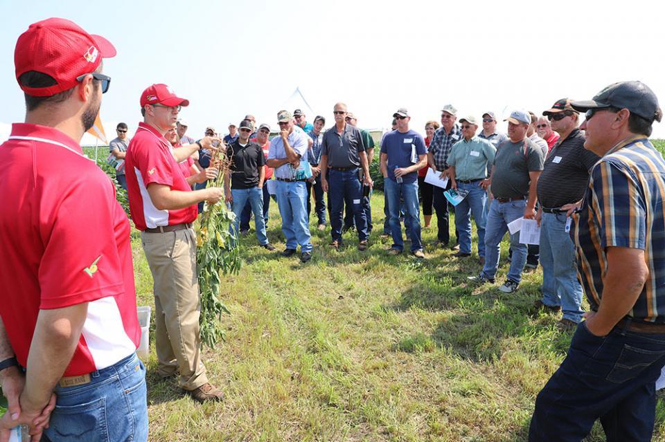 2018 Soybean Management Field Day at Cedar Bluffs site