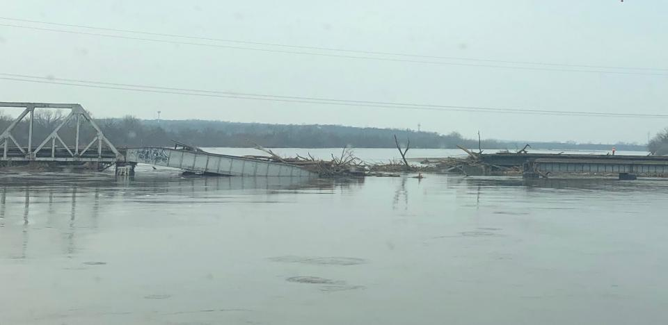 Flooding in eastern Nebraska.