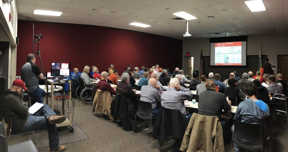The Successful Farmer Series offers southeast Nebraska growers an opportunity to hear about current topics in agriculture.