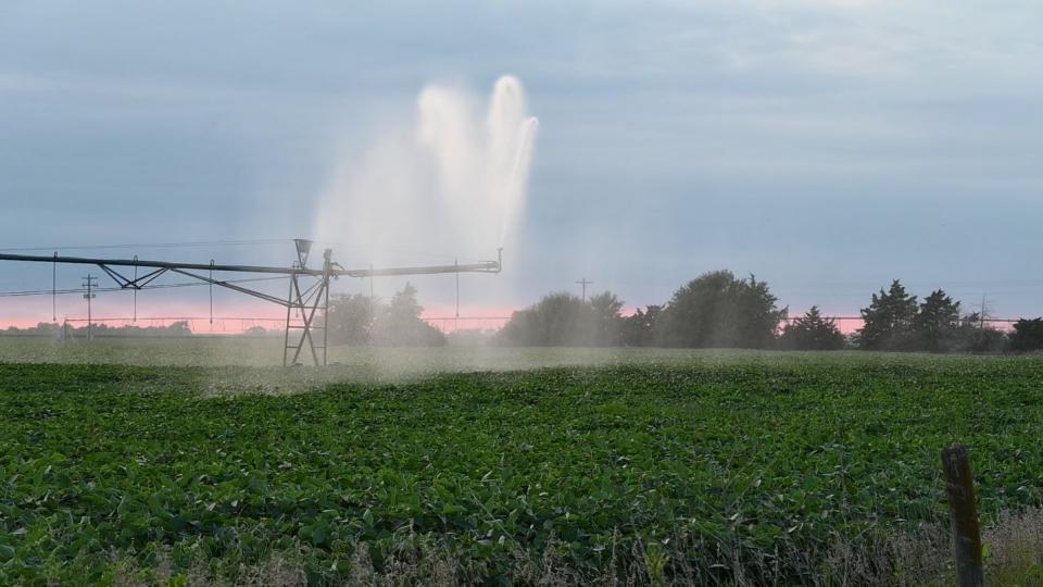 Irrigation end gun