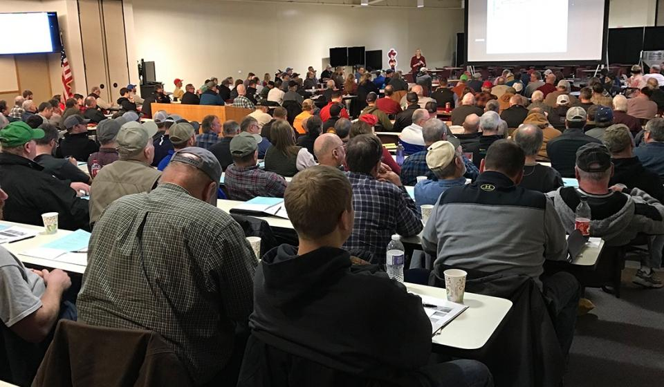 attendees at the last Cover Crops and Soil Health conference