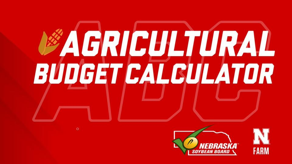 Agricultural Budget Calculator graphic