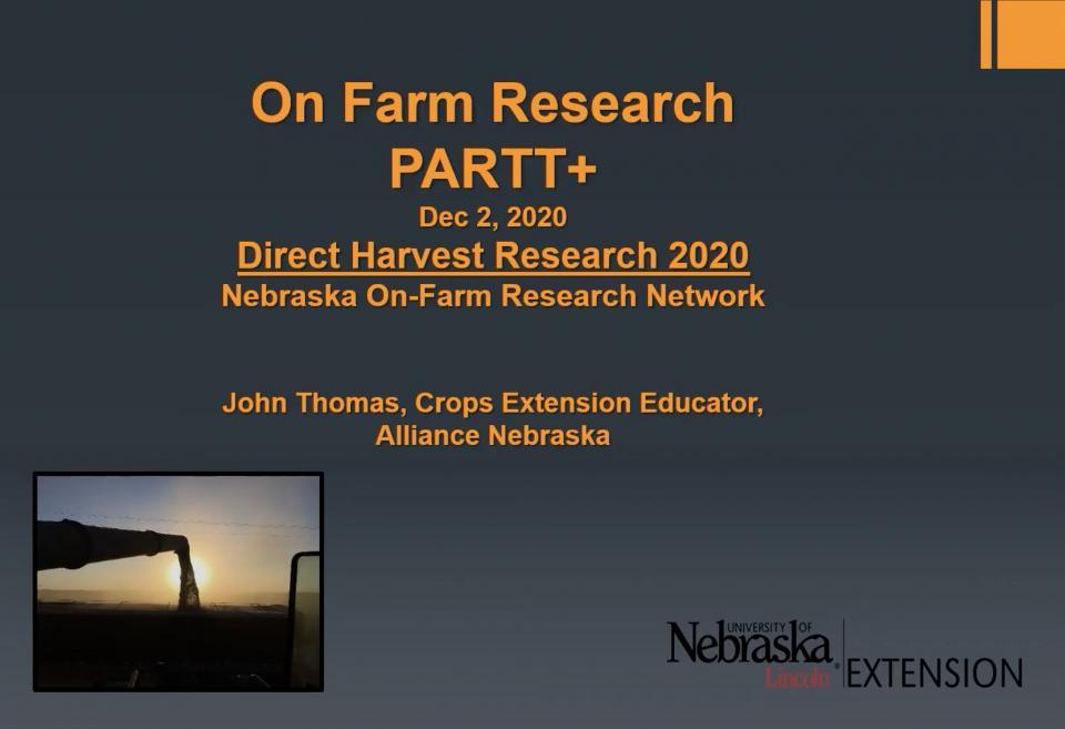 PARTT Plus seminar powerpoint