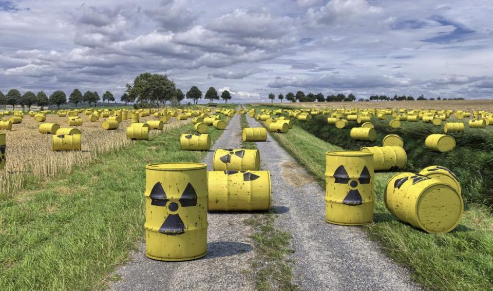 Toxic content barrels