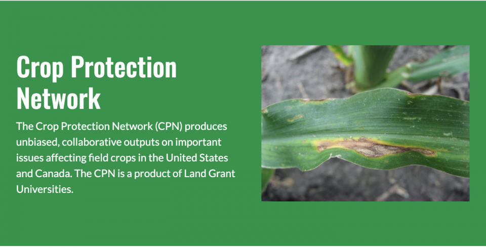 Crop Protection Network banner