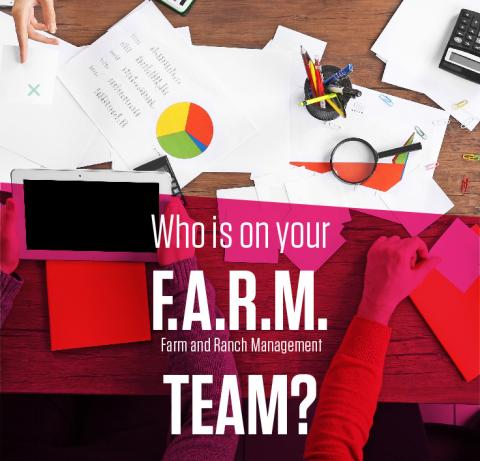 Building your FARM team graphic