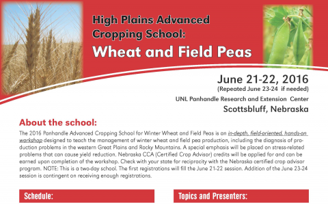 Links to full brochure about cropping school