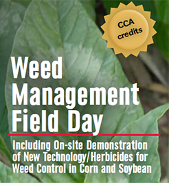 June 29 Weed Management Field Day