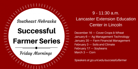 Schedule of Successful Farmer Series Programs