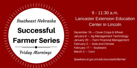 Schedule of Successful Farmer Series Programs