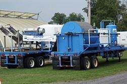 USDA ARS equipment used to extract phosphorus from manure