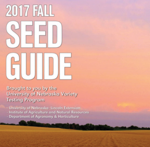 Fall Seed Guide cover
