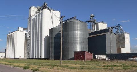 Gordon Nebraska grain elevator