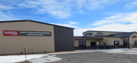 Henry J. Stumpf International Wheat Center near Grant